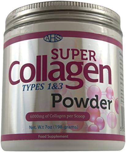 AHS Super Collagen Powder 7 ounce: Amazon.es: Alimentación y bebidas