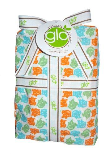 glo Organic Elephant Print-Full/Queen Duvet & Sham Set