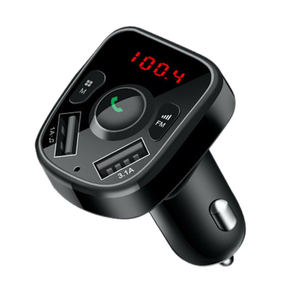 MP3 Transmetteur pour Voiture Bluetooth, sans Fil Radio Adaptateur, Lecteur MP3 Sté ré o Musique Adaptateur Voiture kit Lecteur MP3 Stéréo Musique Adaptateur Voiture kit Somedays