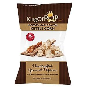 Amazon.com : KingOfPOP Kettle Corn, Hickory Maple Bacon, 6 ...