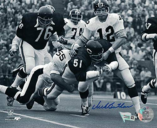Dick Butkus Autographed Signed Chicago Bears 8x10 Photo vs Pitt FAN - Certified Authentic Dick Butkus Signed Photo