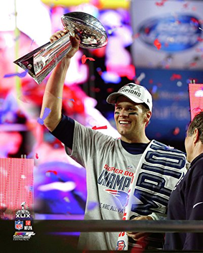 Super Bowl Trophy 8x10 Photograph - 1