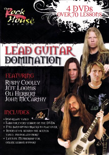 The Rock House Method: Lead Guitar Domination