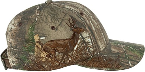 Dri-Duck Running Deer Embroidered Cap. 3301 Realtree Max4