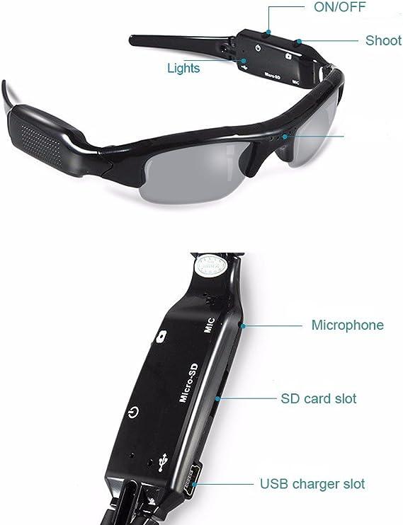 32GB HD Sunglasses Camera Digital Video Recorder DV DVR Eyewear Camcorder USB
