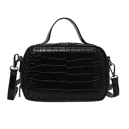 26a5b3858c60 Amazon.com: Rakkiss Womens Crossbody Bag Fashion Your Solid ...