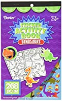 Darice 106-5226H 268 Piece Dinosaur Theme Activity Sticker Book