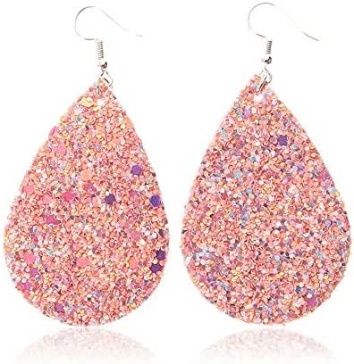 leather earrings lightweight leaf drop earrings,faux leather earrings exquisite workmanship
