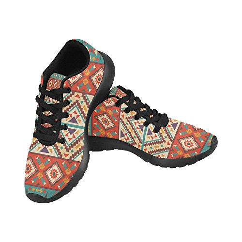 InterestPrint Womens Trail Running Shoes Jogging Lightweight Sports Walking Athletic Sneakers Multi 9 DFd7QbQ
