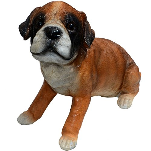 Cheap Michael Carr Designs 80108 Punch-Boxer Puppy Statue, Medium