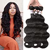 LiangDian HAIR 7A Brazilian Hair Body Wave 3 Bundles 14'' 16'' 18'' Brazilian Body Wave Brazilian Virgin Hair Weave Human Hair Extensions