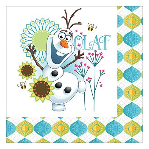 Disney Frozen Fever Lunch Napkins (32ct) -