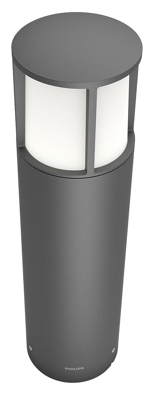Philips myGarden Stock LED Outdoor Pedestal Light, 1 x 6 W Integrated LED Light - Black 915005194601