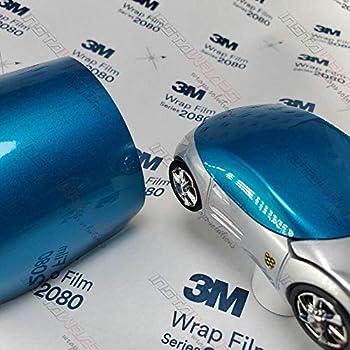 Dry carbon fiber Metallic Blue car wrap film 10ft x5ft VViViD XPO cast vinyl DIY