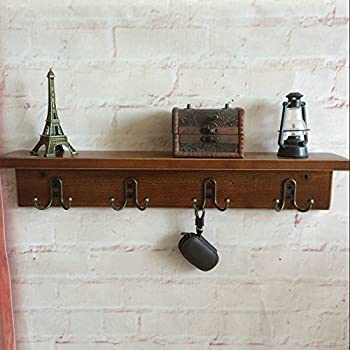"Amazon.com: Prepac 60"" Hanging Entryway Shelf, Espresso"