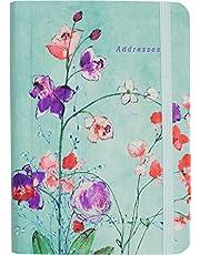 Fuchsia Blooms Address Book