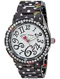 Betsey Johnson Women's BJ00482-14 Cherry Printed Polka Dot Case and Bracelet Watch