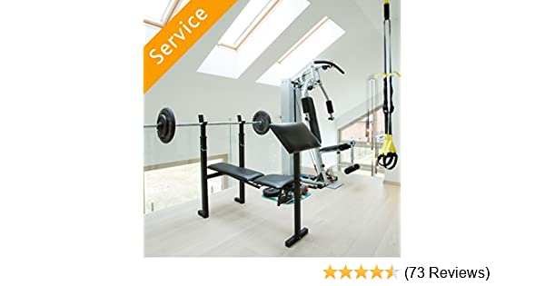 Home gym assembly: amazon.com home services