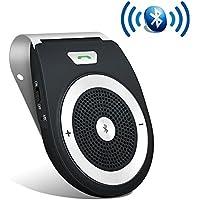 Bluetooth Speakerphone Wireless Portable Speaker Car...