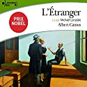 L'Étranger Audiobook by Albert Camus Narrated by Michael Lonsdale
