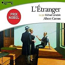 L'Étranger   Livre audio Auteur(s) : Albert Camus Narrateur(s) : Michael Lonsdale