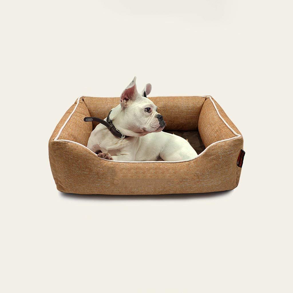 CHONGWFS Pet Nest Kennel Cat Cat Cat Litter Cani Piccoli E Medi Gli Animali Domestici Possono Essere Lavati Addensati per Prossoeggere Il Gatto della Colonna verdeebrale (Dimensioni   Small) | Discount  | Adatto per il colore  | Negozio  | Sulla Vendita  | Be 2475e2
