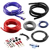 BOSS Audio KIT10 4 Gauge Amplifier Installation Wiring Kit - A Car Amplifier Wiring Kit Helps You Make Connections and Brings Power to Your Radio, Subwoofers and Speakers