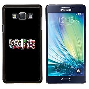 Qstar Arte & diseño plástico duro Fundas Cover Cubre Hard Case Cover para Samsung Galaxy A7 A7000 (Equipo de juego)