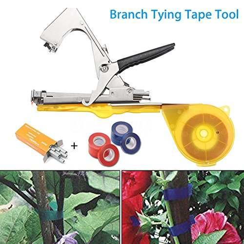 NAHASU Pruning Tools   Vine Branch Tying Tape Tie Stapler Hand Tool Plant Fruit Vegetable Nursery Pruning Tools CLH@8