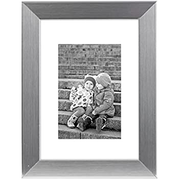 Amazon.com - 8x10 Silver Picture Frame - Made to Display Pictures ...
