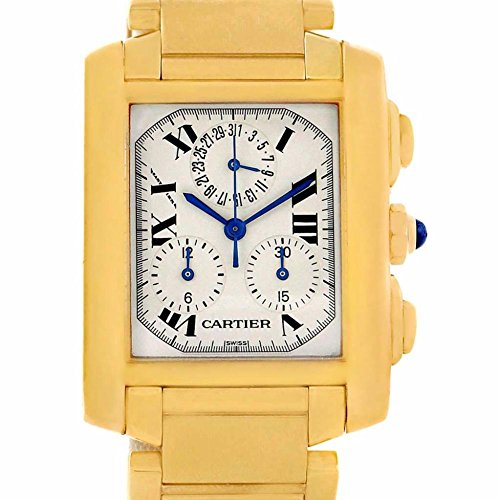 Cartier Tank Francaise quartz womens Watch W50005R2 (Certified Pre-owned)