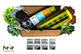 All in One - Organic Vegetable Home Garden Container, Compost and Seed Starter Kit