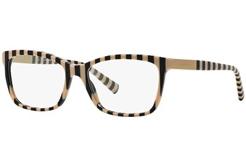Giorgio Armani Für Frau 7081 Black Rule / Beige Kunststoffgestell Brillen, 53mm