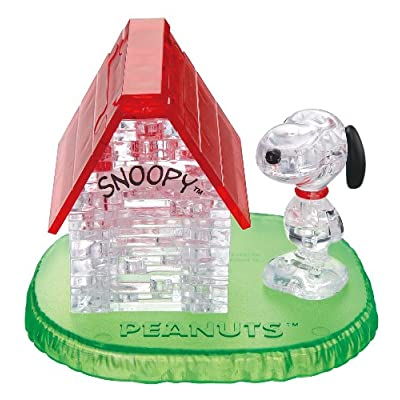 BEVERLY Crystal Puzzle - Snoopy House (Japan Import): Toys & Games
