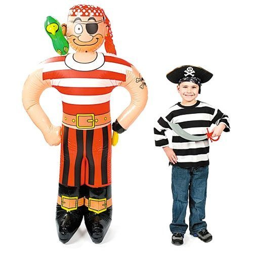 Jumbo Inflatable Pirate Friend by Fun Express