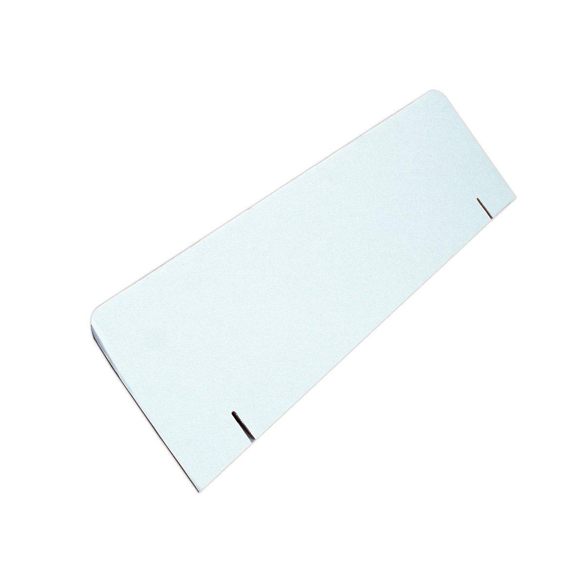 Elmer's Corrugated Tri-Fold Display Board Header Card, 36 x 10 Inches, White (730320)