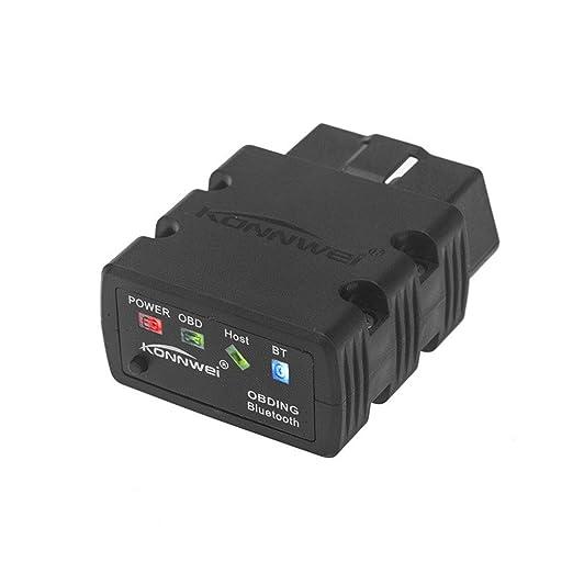 3 opinioni per Konnwei Kw902Mini Bluetooth 2.1OBD II, strumento di scansione diagnostica