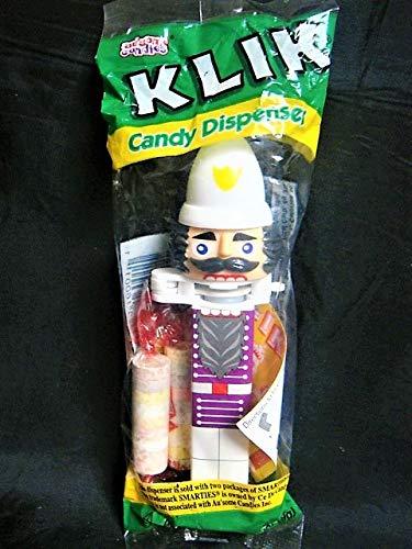 Klik Vintage White Bishop Nutcracker Dispenser with Candy-NIP-Very -