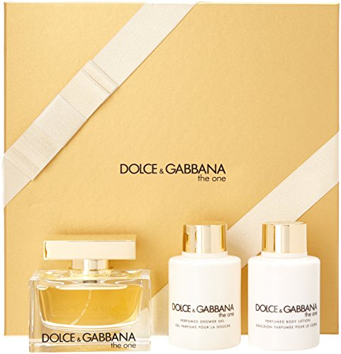 Gabbana Gift Perfume Set (The One Dolce & Gabbana 3 pc Gift Set For Women)