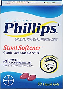 Phillips' Stool Softener Liquid Gels, 60 Count 1