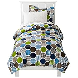 Amazon.com : Polka Dot Fun 4 Piece Toddler Bedding by ...