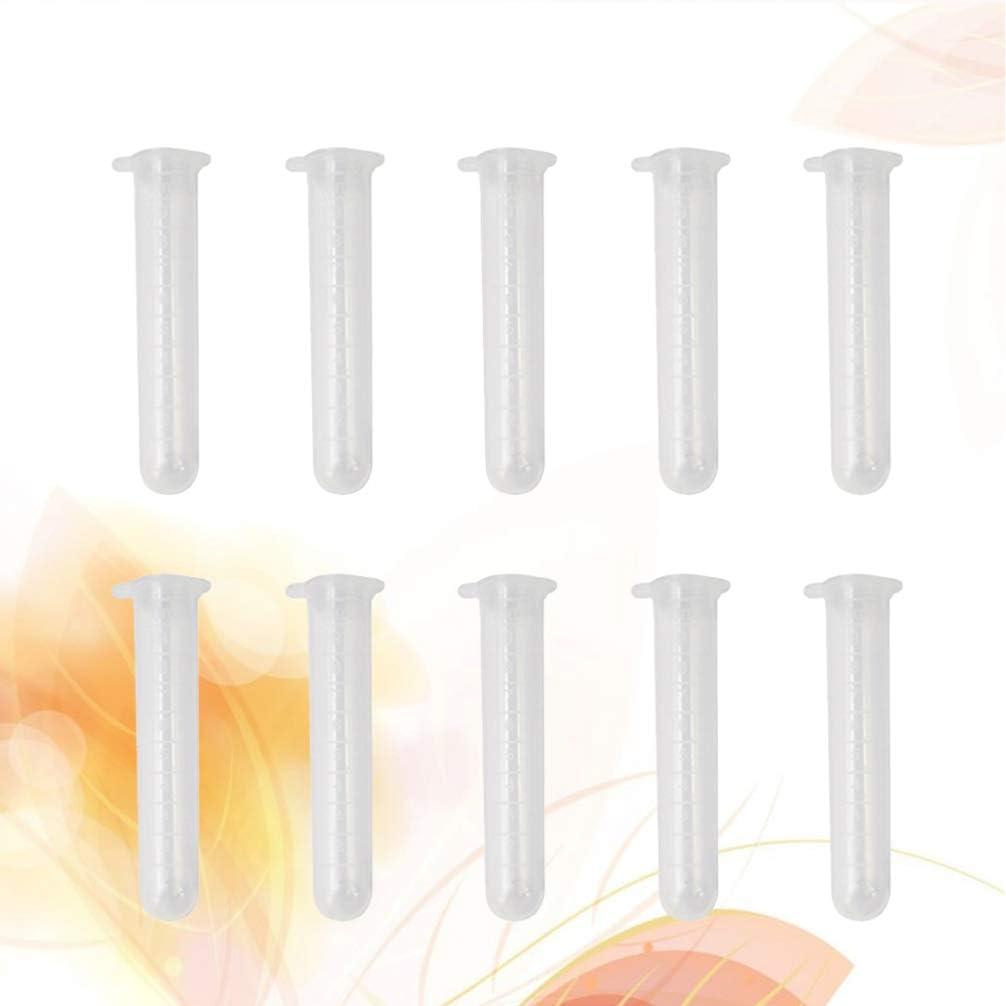 Healifty Aufbewahrungsr/öhrchen der Plastiknadeln des freien Raumes 10pcs die Nadelbeh/älter mit Kappe n/ähen