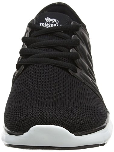 Women's Multisport Black White Outdoor Lonsdale Peru Black Shoes FZdqfqUwx