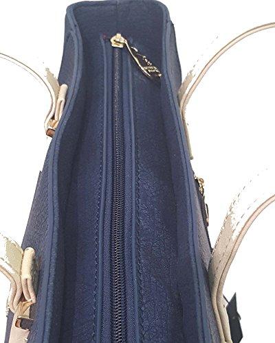 Shopping Beverly Hills Polo Club Borsa Donna blu due manici BH1202 Venta Directa De Fábrica De Descuento Cómodo En Línea Tienda De Venta Compra Salida Descuentos En Línea Barato dS3Bxfa