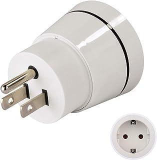 Hama 00121994 adattatore per presa di corrente Bianco