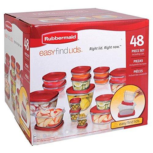Easy Find Lid Food Storage Set, 48-Piece