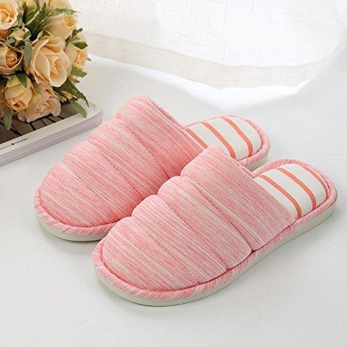 en laine des pantoufles en hiver amateurs pantoufles hommes antidérapants femmes Longless Hiver l'intérieur chaude B pantoufles à épais maison coton de maison YqgTWOn6
