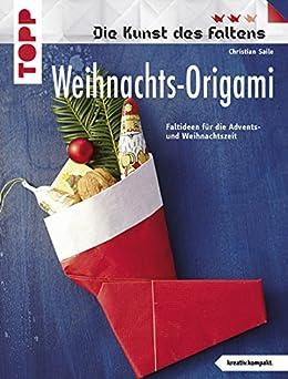 weihnachts origami faltideen f r die advents und. Black Bedroom Furniture Sets. Home Design Ideas