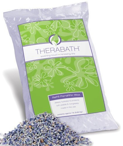 Therabath Refill Paraffin Wax, Lavender, 6 lbs by Therabath [Beauty] ()