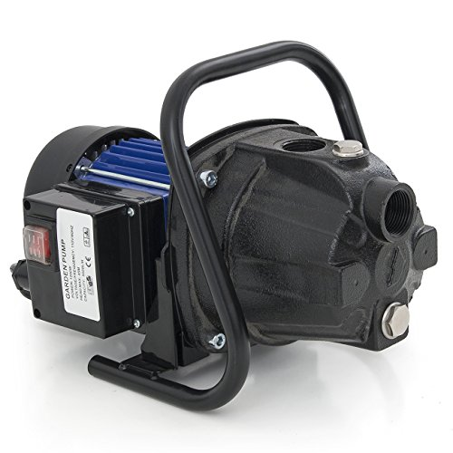 ARKSEN 1200W Shallow Well Jet Water Pump Cast Iron 1.5HP 925GPH Irrigation Whole - Well Shallow